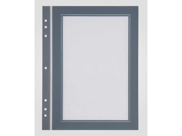 XXLselect Quadrat-Format Passepartout Grau