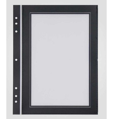 XXLselect Quadrat-Format Passepartout Schwarz