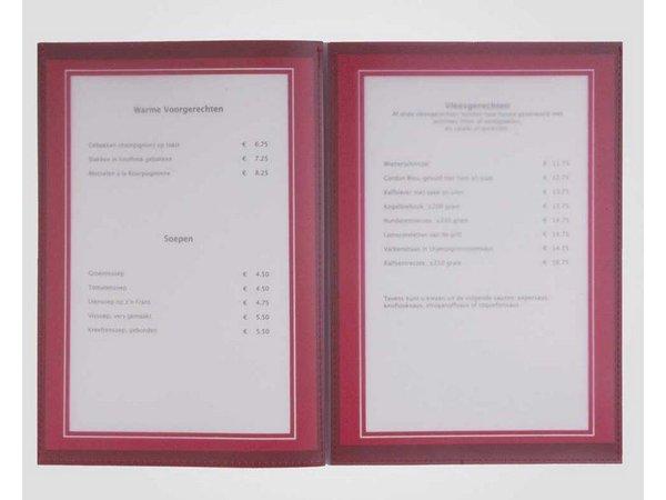 XXLselect Menu Omni Frame Leatherhead A4 and A45