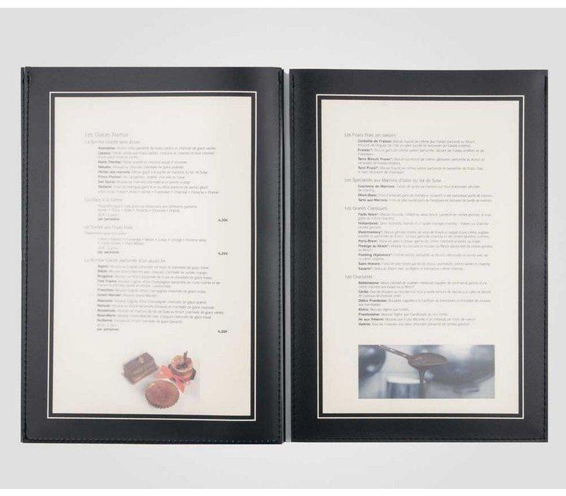 XXLselect Menu Omni Frame Metal - A4 and A45