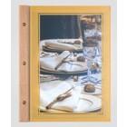 XXLselect Menu Omni Wood Frame - A4 and A45