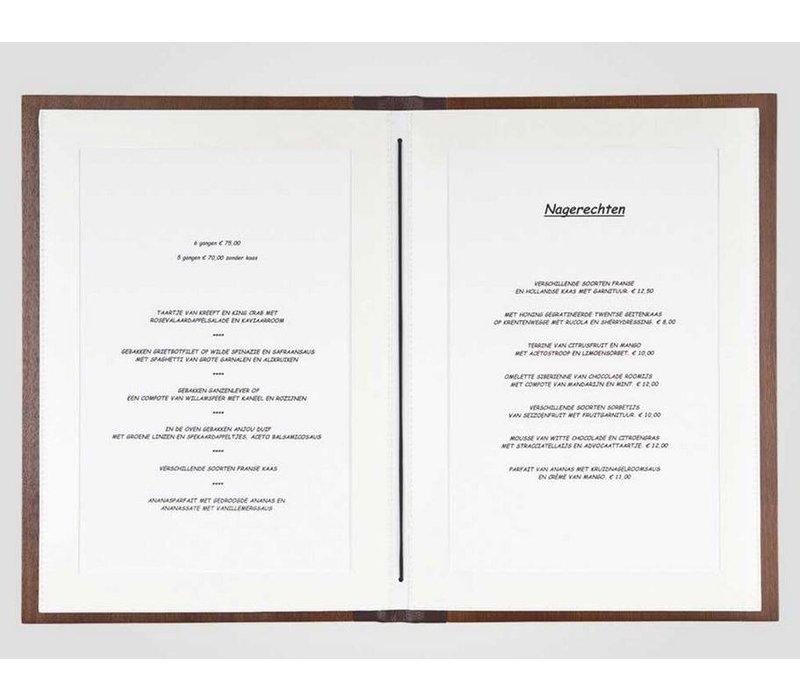 XXLselect Menukaart Woodline - Kersen A4