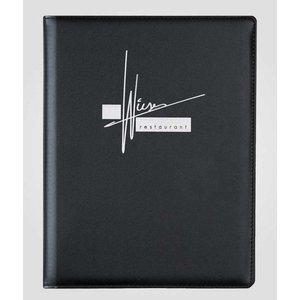 XXLselect Menu Classic Calf - simili CALF LEATHER - Black A4