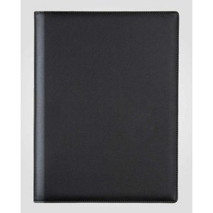 XXLselect Menukaart Classic Elegance - Simili Leder - Zwart A5