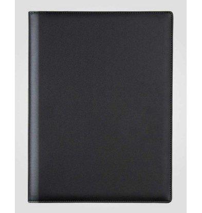 XXLselect Menu Classic Elegance - Imitation Leather - Black A5