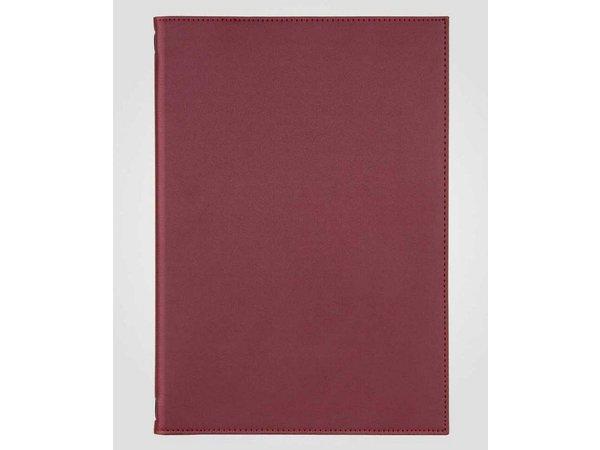 XXLselect Menukaart Classic Elegance - Simili Leder - Bordeaux A4