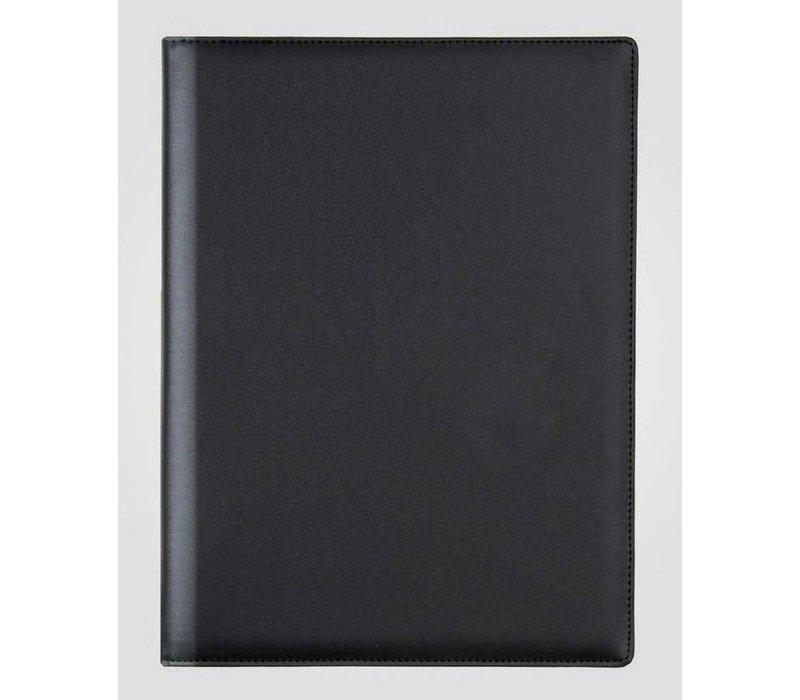 XXLselect Menu Classic Elegance - Imitation Leather - Black A4