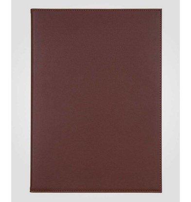 XXLselect Simi-Leder Menü-Ordner - hochwertiges Kunstleder - Bordeaux A4 - 4 Lese Seiten