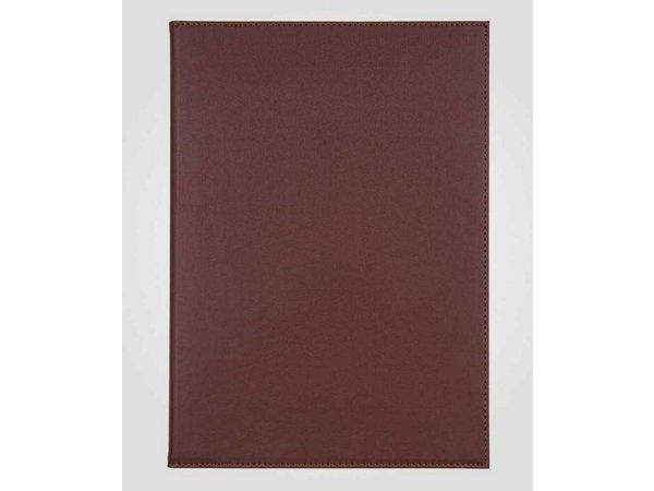 XXLselect Simi-Leather Menumap - Hoogwaardig Kunstleer - Bordeaux A4 - 3 Leeszijdes
