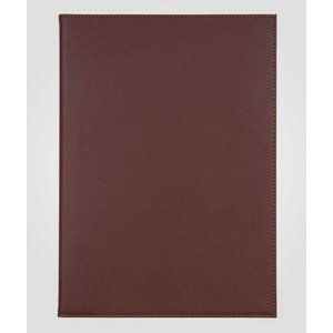 XXLselect Simi-Leder Menü-Ordner - hochwertiges Kunstleder - Bordeaux A4 - 2 Seiten lesen