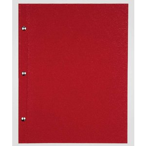 XXLselect Menu Bibliothek Fibre - Red A4