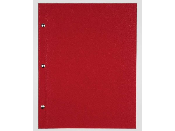 XXLselect Menu Library Fibre - Red A4