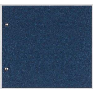 XXLselect Menukaart Library Fibre - Blauw - Vierkant Model