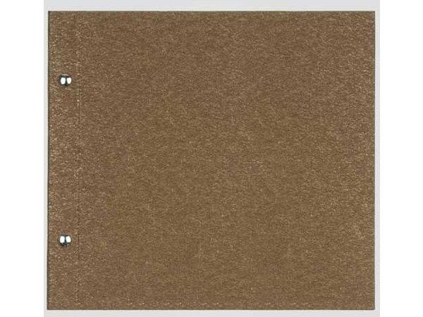 XXLselect Menu Bibliothek Fibre - Gold - quadratische Modell