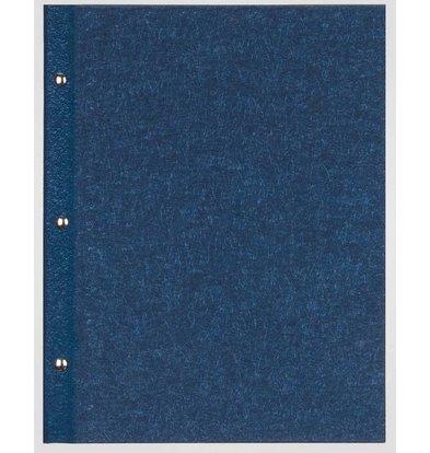 XXLselect Menu Library Fibre - Blue A5