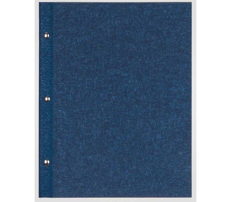XXLselect Menukaart Library Fibre - Blauw A5