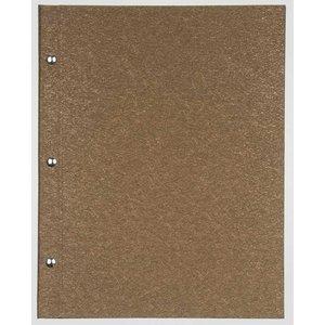 XXLselect Menu Library Fibre - Gold A5