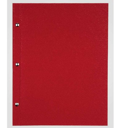 XXLselect Menu Bibliothek Fibre - Red A5