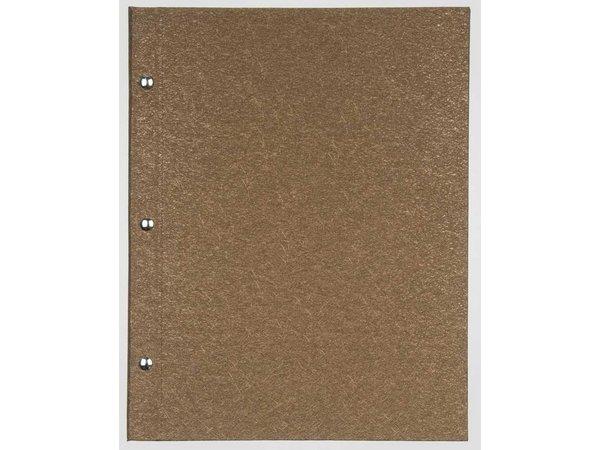 XXLselect Menukaart Library Fibre - Gold A4