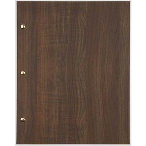 XXLselect Menu Library Wood - Dark Oak A4