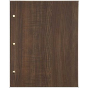 XXLselect Menu Library Wood - Dark Oak A5