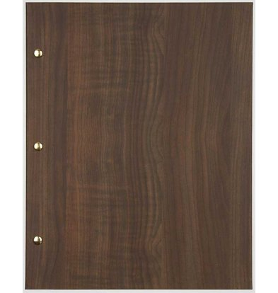 XXLselect Menu Library Wood - Dark Oak A5