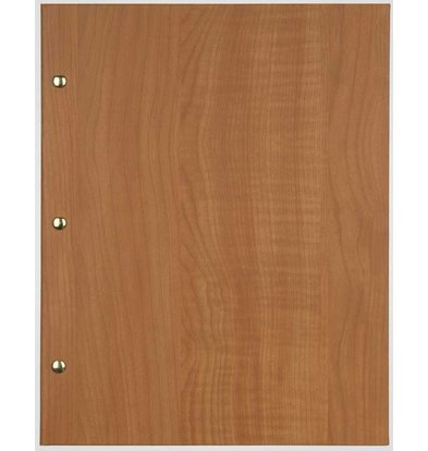 XXLselect Menu Library Wood - Beech Oak A5