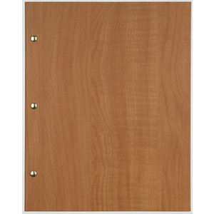 XXLselect Menu Library Wood - Beech Oak - Square Model