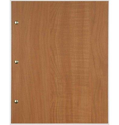 XXLselect Menu Bibliothek Holz - Buche Eiche - quadratische Modell
