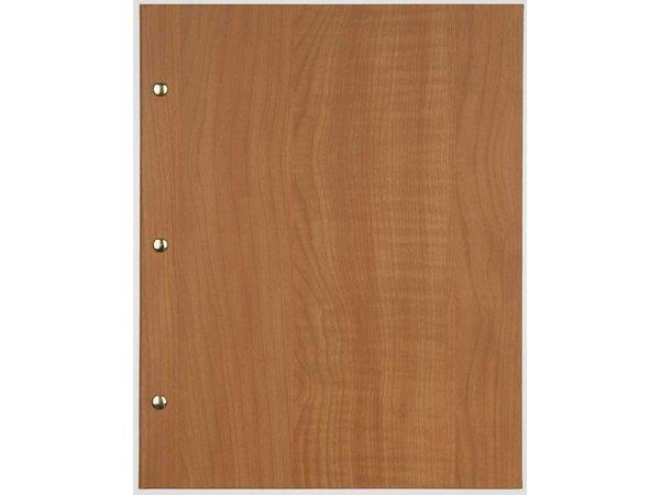 XXLselect Menü Bibliothek Holz - Buche Eiche - quadratische Modell