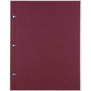 XXLselect Library Classic - Linnen Menukaarten - A4 - Bordeaux
