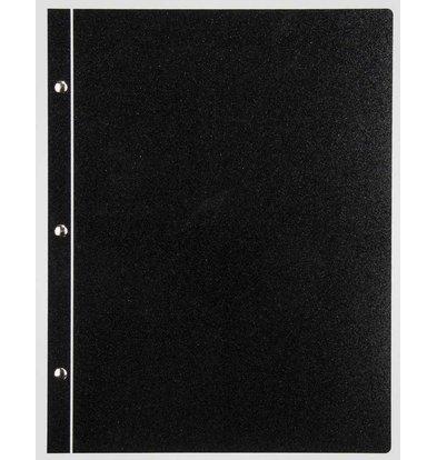 XXLselect Menukaart Metal Light - Zwart Metallic - Vierkant model