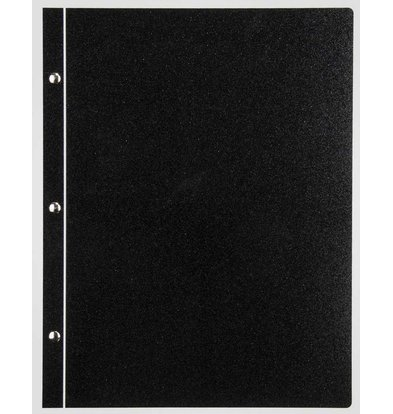XXLselect Light Metal Menu - Schwarz Metallic A4