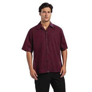 XXLselect Chef Works - Coole Vent Chef Shirt - Merlot - Erhältlich in 4 Größen - Männer