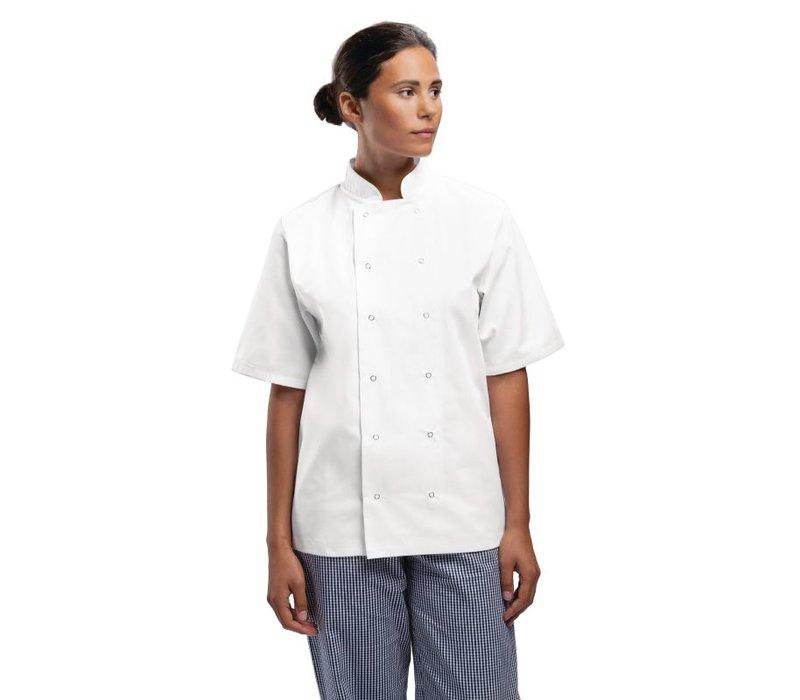 XXLselect Chefs Tube Boston - Short Sleeves - Available in 6 sizes - Unisex - White