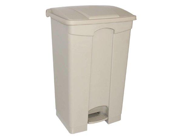 XXLselect Jantex pedaal afvalbakken 45L beige