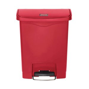 XXLselect Rubbermaid trash bin smart step on with front pedal 30L - Different colors - 425x271x (H) 536mm