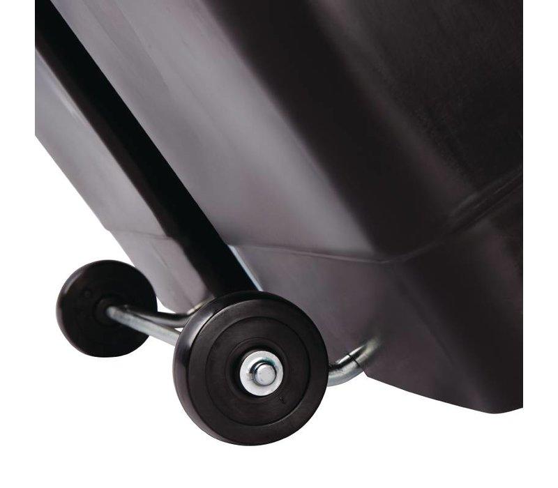 XXLselect AfvalbakRubbermaid slim step on met frontpedaal 50L - Verschillende kleuren - 457x292x(h)719mm