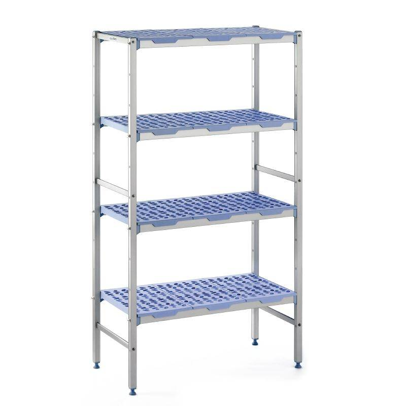 xxlselect modular stock shelves 4 shelves line up 400. Black Bedroom Furniture Sets. Home Design Ideas