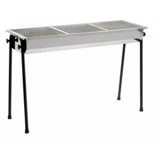Hendi Houtskool Barbecue Hendi | Resto 3 BBQ Roosters | 1130x380x(h)770mm - Professioneel