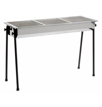 Hendi Charcoal Barbecue Hendi | Resto 3 BBQ Grills | 1130x380x (h) 770mm - Professional