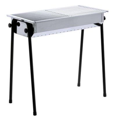 Hendi Hendi Barbecue Houtskool BBQ - Patio 2 Roosters | 770x380x760(h)mm