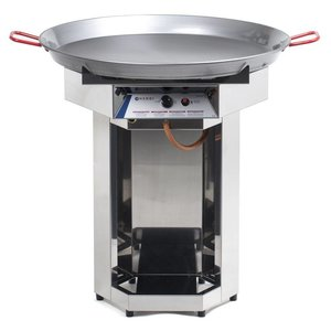 Hendi Hendi Fiesta Gas Barbecue | BBQ gas grill XXL | 800mm Diameter Pan | Propane | PROFESSIONAL