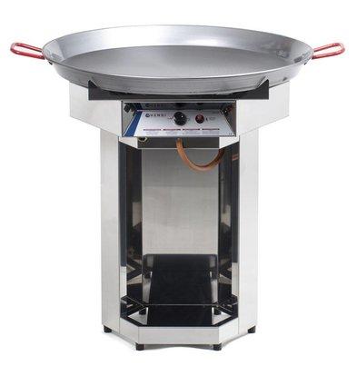 Hendi Hendi Fiesta Grill Gas | Gasgrill Grill XXL | 800mm Durchmesser Pfanne | Propan | PROFESSIONAL