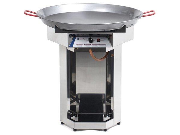 Hendi Hendi Fiesta Barbecue Gas   Gasgrill XXL BBQ   800mm Diameter Pan   Propaangas   PROFESSIONEEL