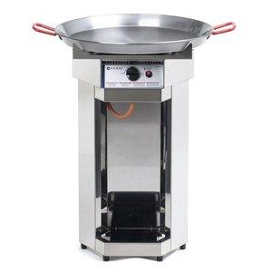 Hendi Hendi Fiesta BBQ Gas | Barbecue laps XL | 600mm Diameter Pan | Propane | PROFESSIONAL