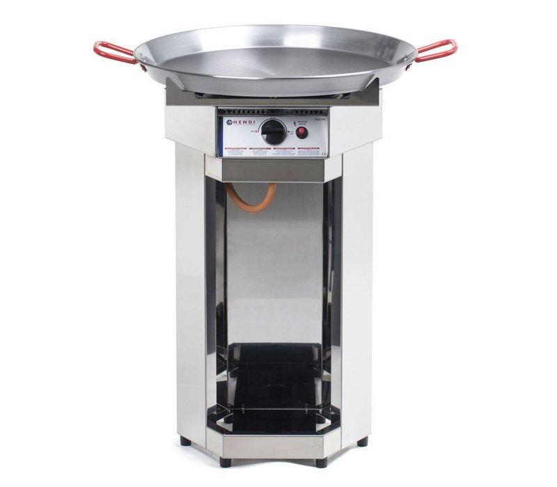 Hendi Hendi Fiesta BBQ Gas   Ronden Barbecue XL   600mm Diameter Pan   Propaangas   PROFESSIONEEL