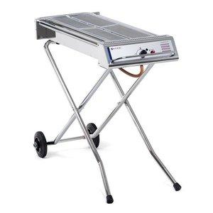 Hendi Hendi Gasbarbecue Xenon Pro   1120x410x(h)900mm   Ideale BBQ voor SATE!