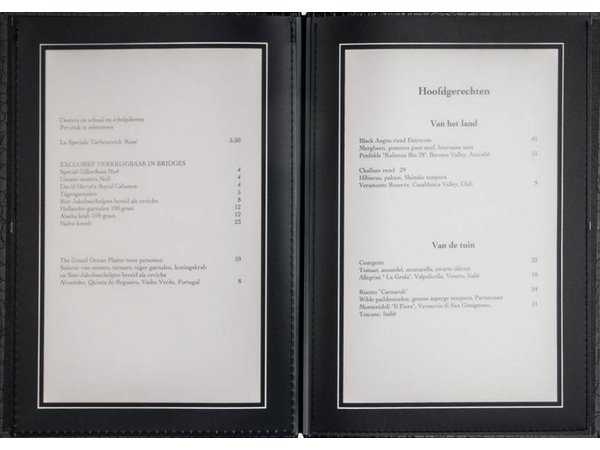 XXLselect Menü Bibliothek Croco - Weiß - Quadrat Modell