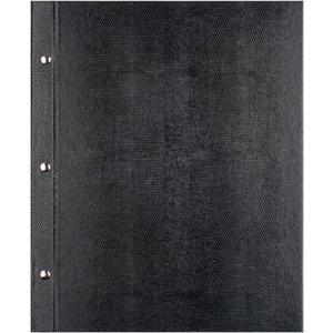 XXLselect Menukaart Library Croco - Zwart A5